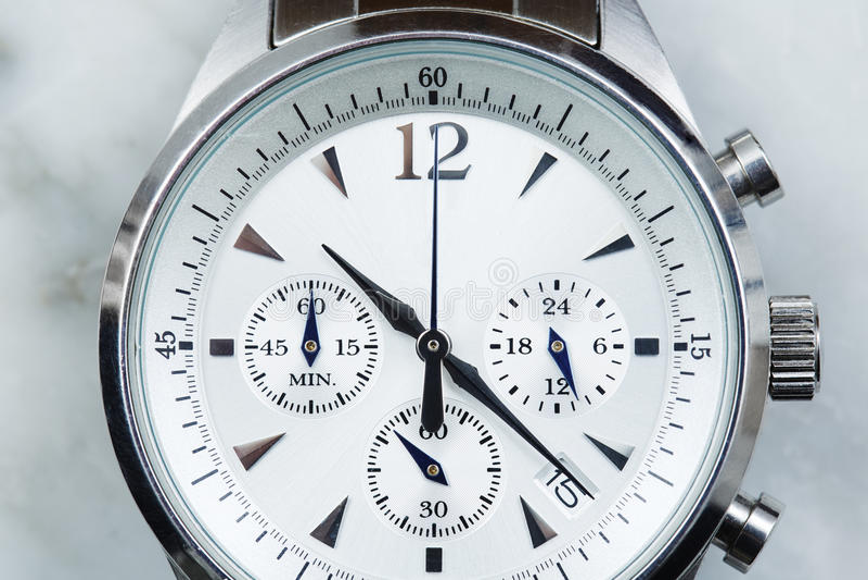 Het horloge van mensen stock afbeeldingen