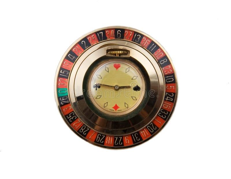 Het horloge van Roullete royalty-vrije stock afbeeldingen