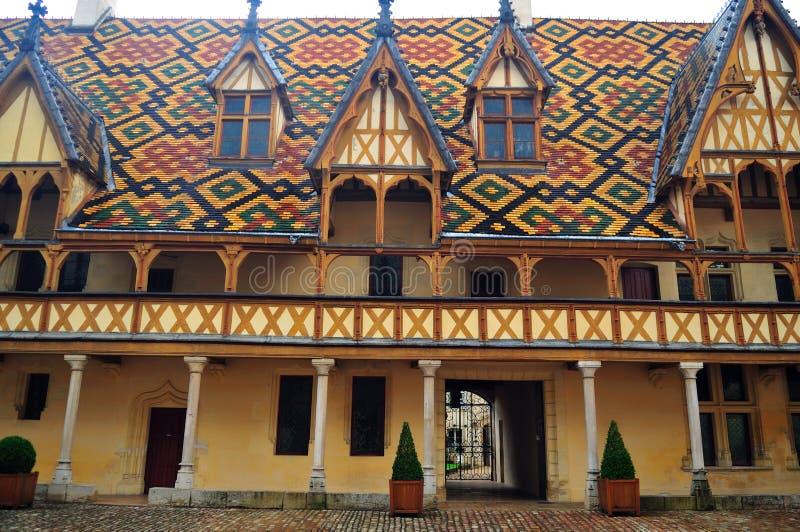 Het hotel Dieu stock fotografie