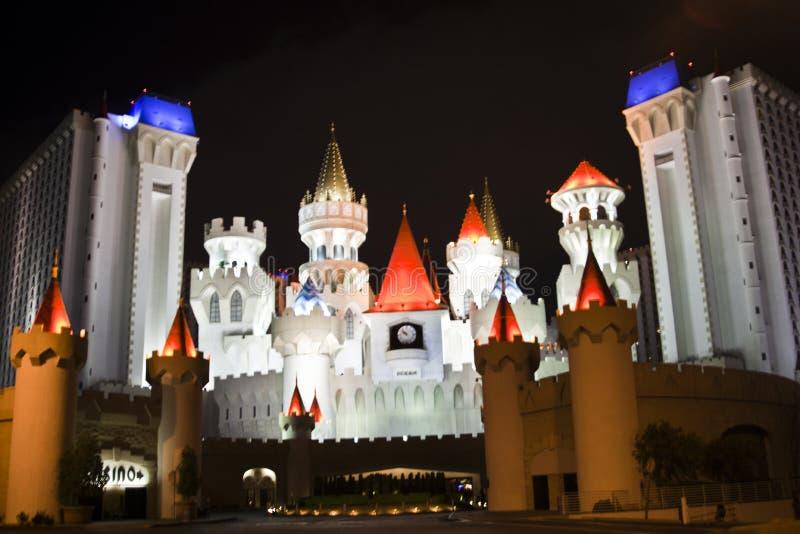 Het hotel en het casino van Excalibur stock afbeelding