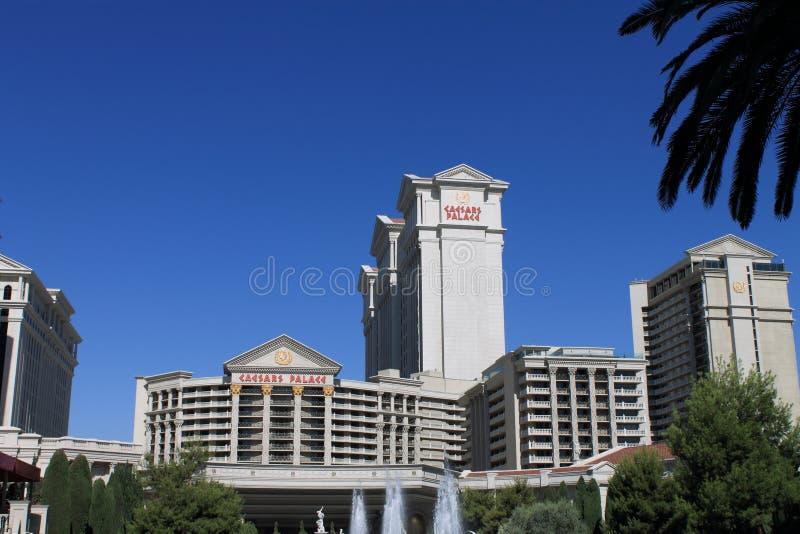 Las Vegas - het Hotel en het Casino van het Caesars Palace stock foto's