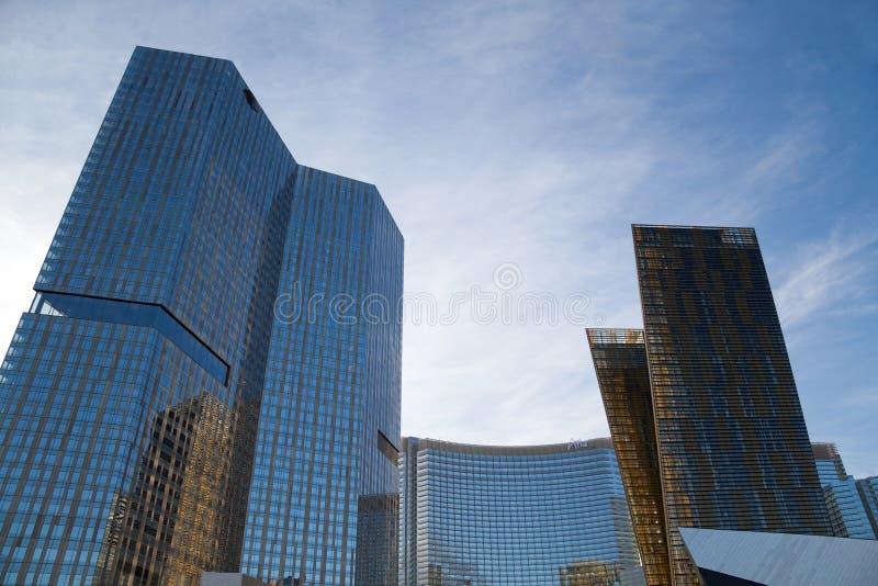 Het Hotel en het Casino van het Centrum van de stad royalty-vrije stock afbeeldingen