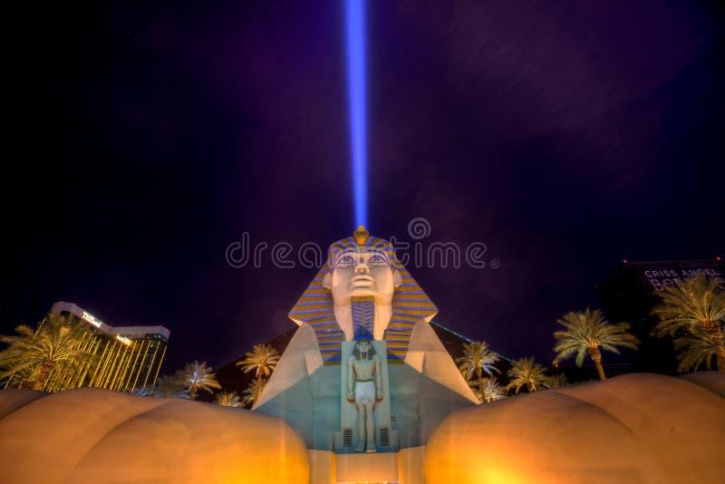 Het Hotel en het Casino van Las Vegas van Luxor stock afbeeldingen