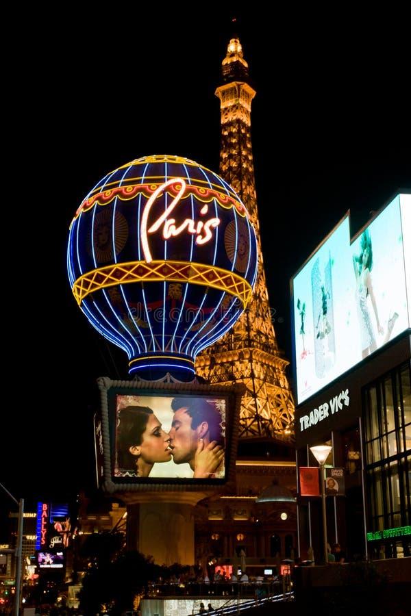 Het Hotel en het Casino van Parijs in Las Vegas, de V.S. stock afbeelding