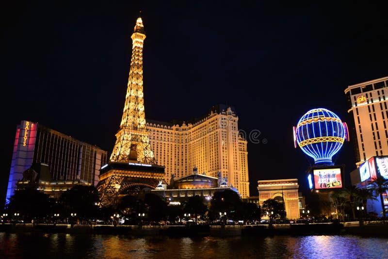 Het Hotel Las Vegas van Parijs royalty-vrije stock afbeeldingen