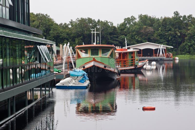 Het Hotel Manaus Brazilië van het Paleis van de Wildernis van Amazonië royalty-vrije stock fotografie