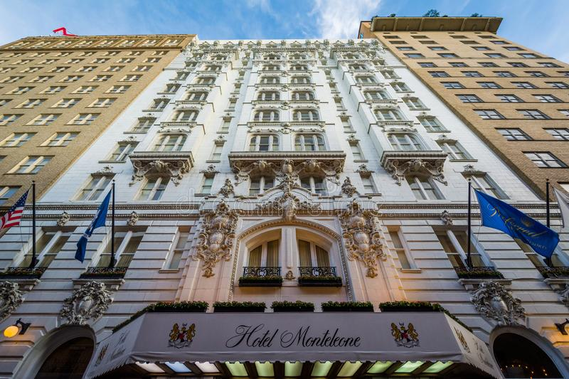 Het Hotel Monteleone, in New Orleans, Louisiane stock fotografie