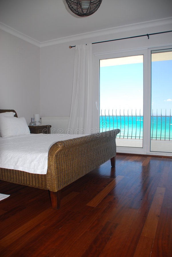 Het hotel room2 van de luxe stock afbeelding