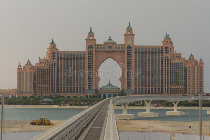Het Hotel van Atlantis royalty-vrije stock foto