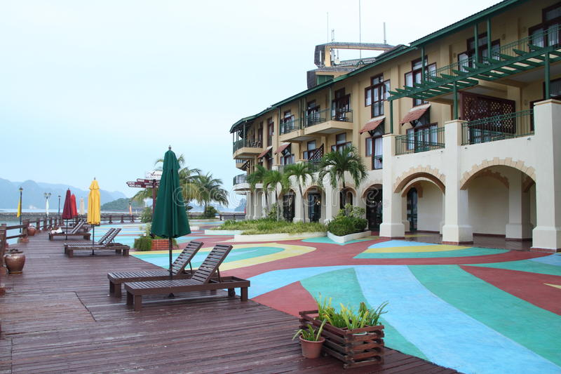 Het hotel van Awana van Langkawi, Maleisië royalty-vrije stock fotografie