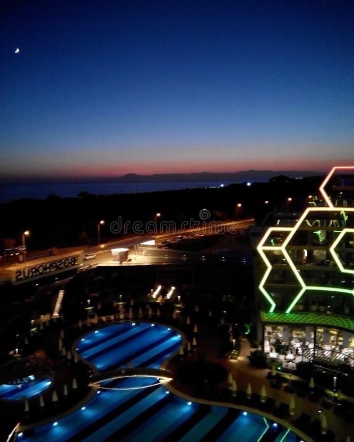Het Hotel van Bosphorussorgun stock afbeeldingen