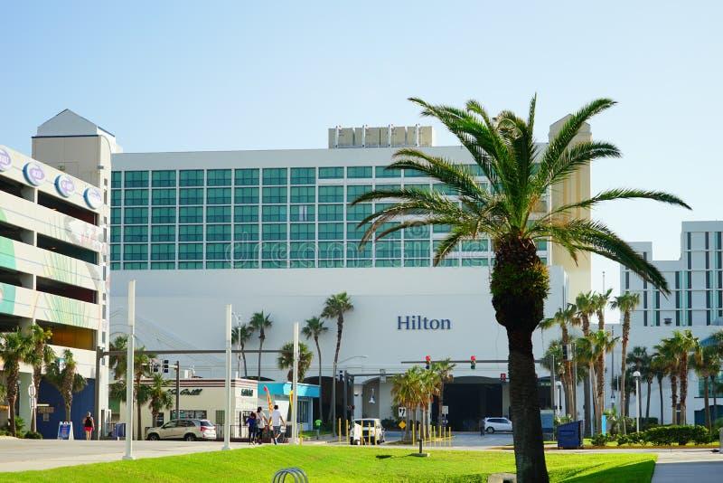 Het hotel van Daytona Beach oceanview royalty-vrije stock foto
