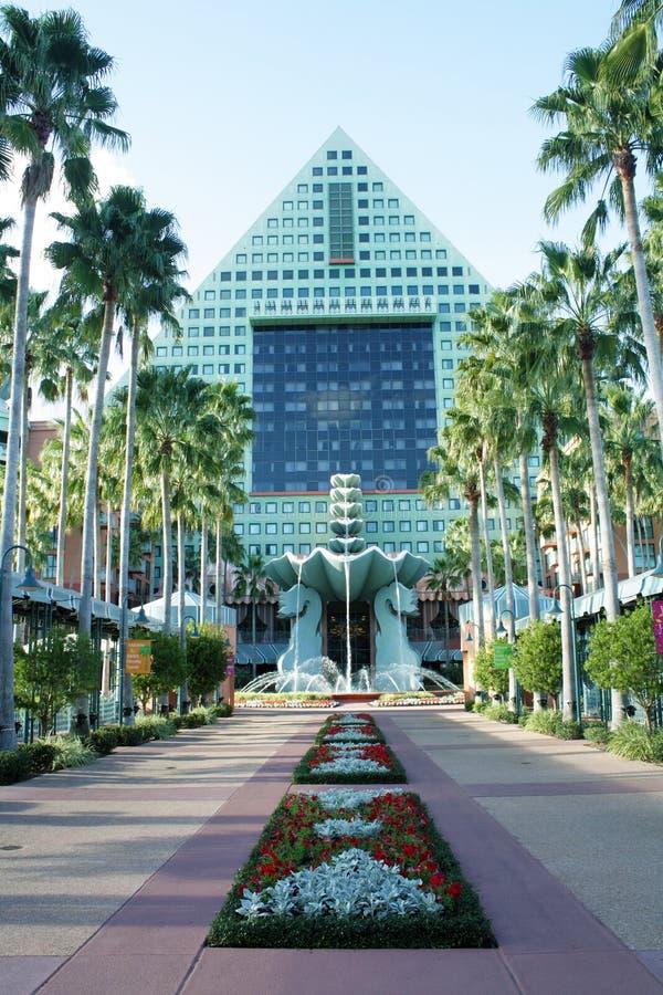 Het Hotel van de dolfijn bij Wereld van Walt Disney (8) stock foto