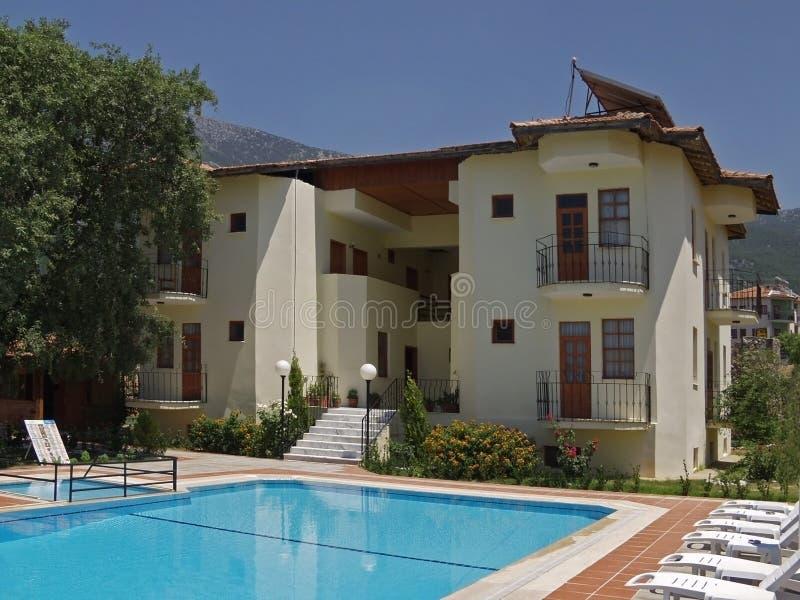 Het Hotel van de vakantie stock fotografie