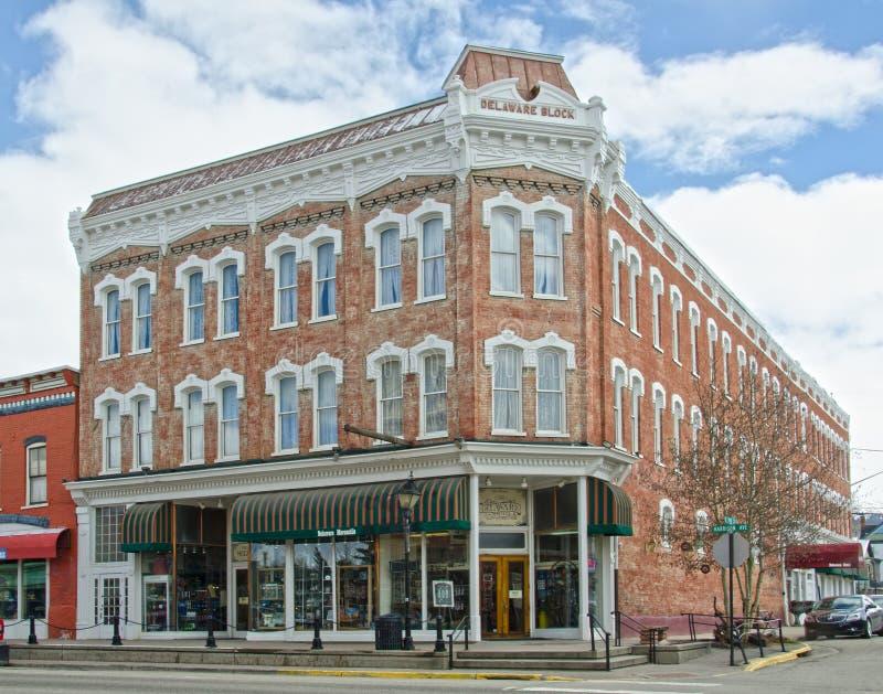 Het Hotel van Delaware in Leadville, Colorado royalty-vrije stock afbeeldingen
