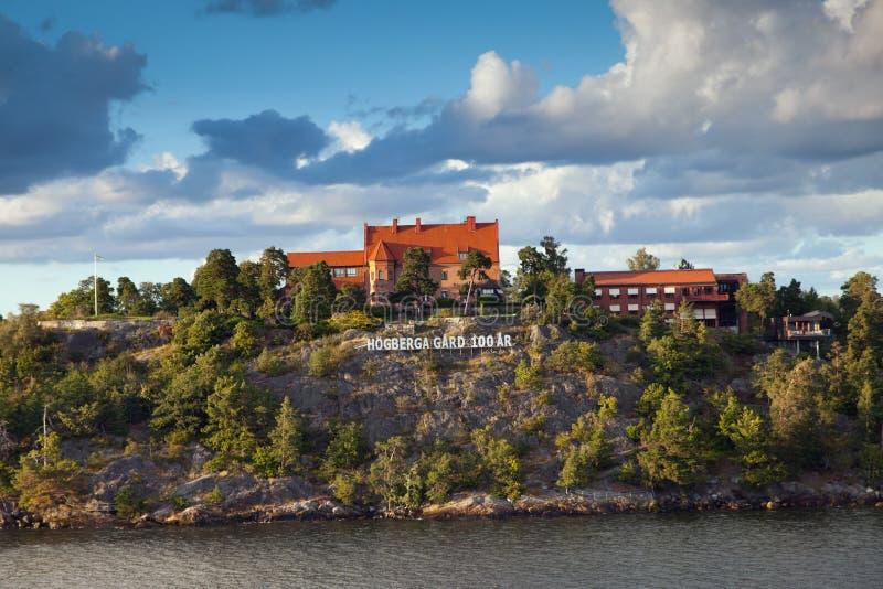 Het Hotel van Gard van Högberga royalty-vrije stock foto