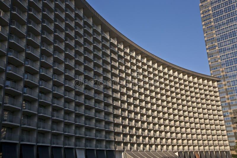 Het Hotel van het eeuwplein in Los Angeles stock fotografie