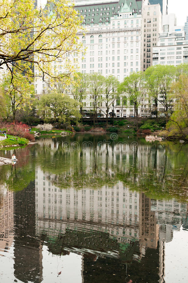 Het hotel van het plein in de Stad van New York stock fotografie