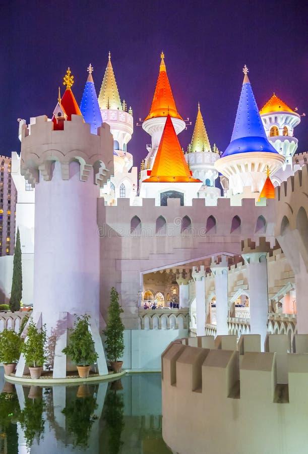 Het Hotel van Las Vegas Excalibur royalty-vrije stock foto's