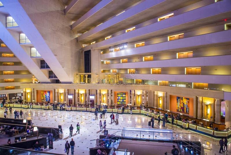 Het Hotel van Las Vegas Luxor stock afbeeldingen