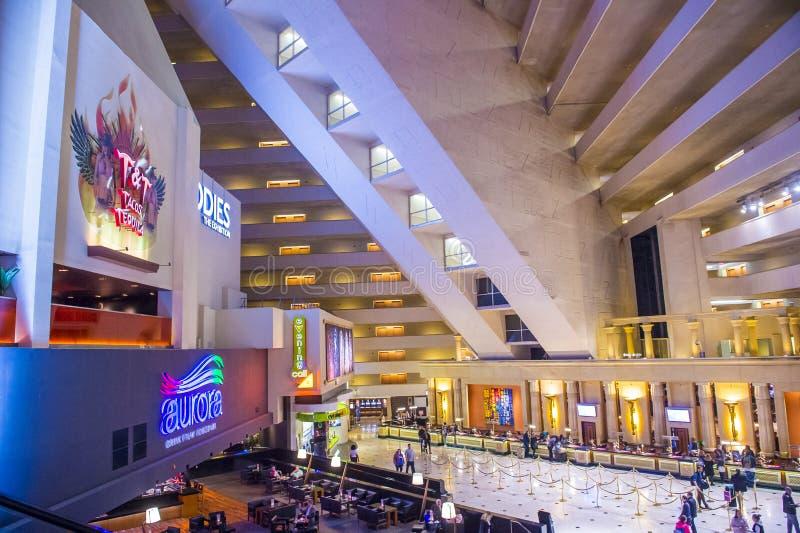 Het Hotel van Las Vegas Luxor royalty-vrije stock foto