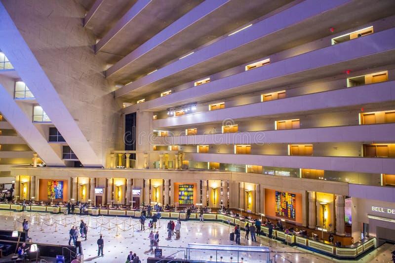 Het Hotel van Las Vegas Luxor stock foto's