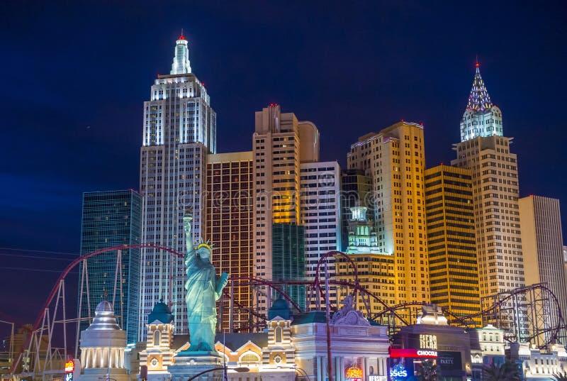 Het hotel van Las Vegas New York royalty-vrije stock afbeelding