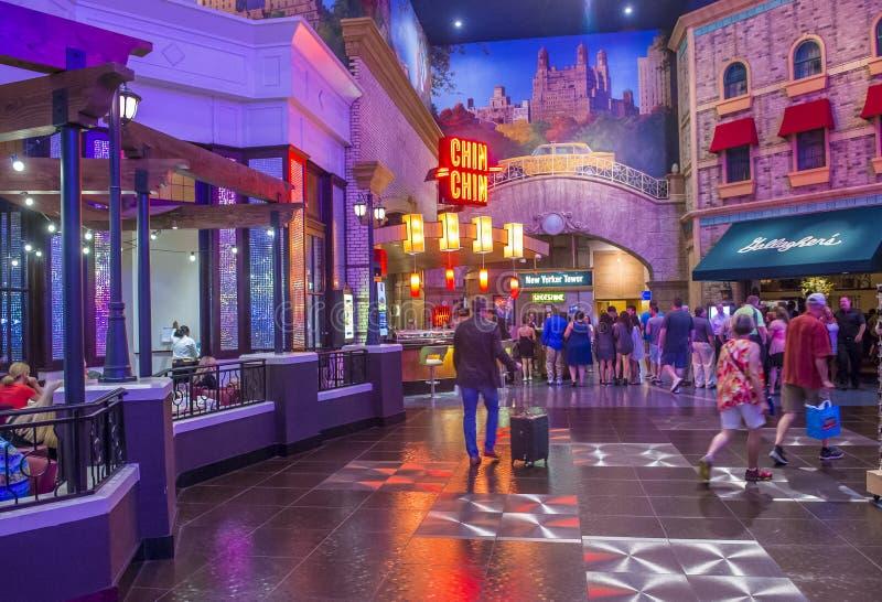 Het hotel van Las Vegas New York royalty-vrije stock foto's