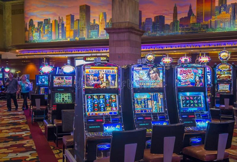 Het hotel van Las Vegas New York stock fotografie