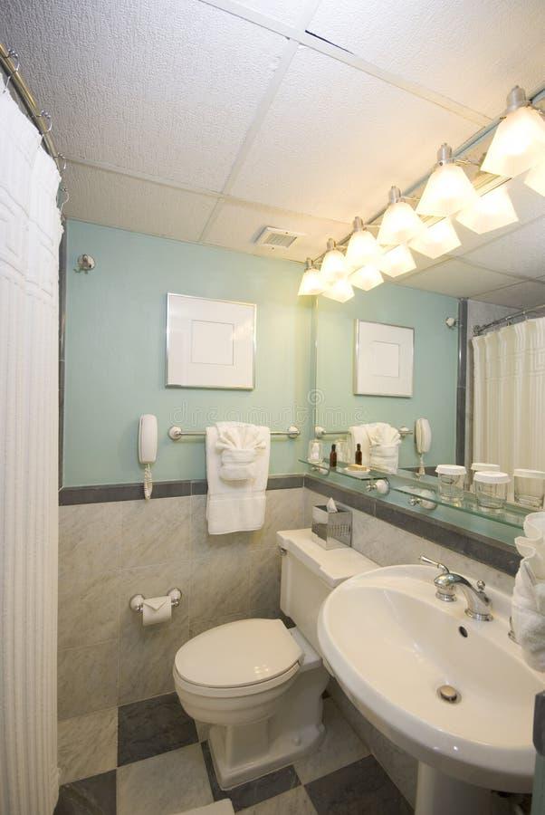 Het hotelbadkamers van de luxe royalty-vrije stock foto