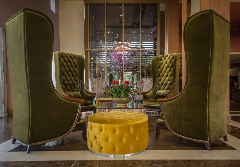 Het Hotelhal van Londen stock afbeeldingen
