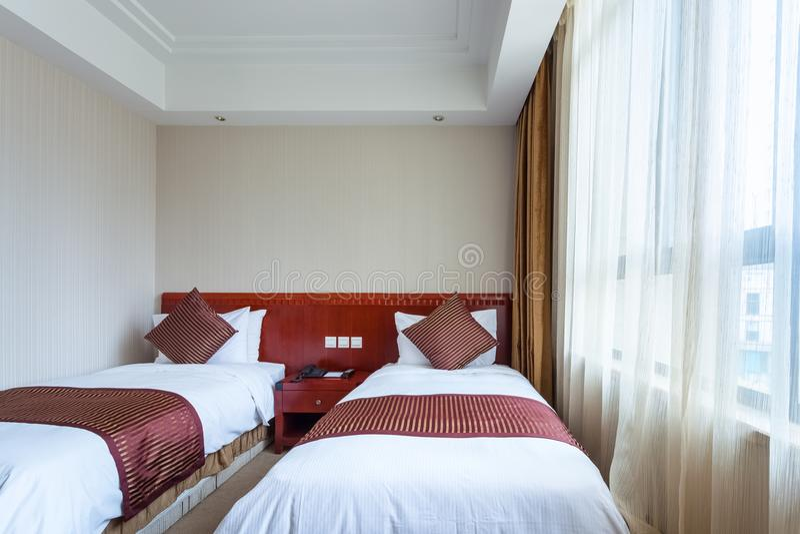 Het hotelruimte van Santo Domingo stock afbeelding
