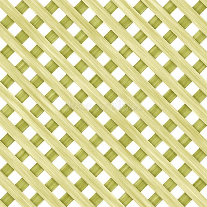 Het hout van de omheining vector illustratie