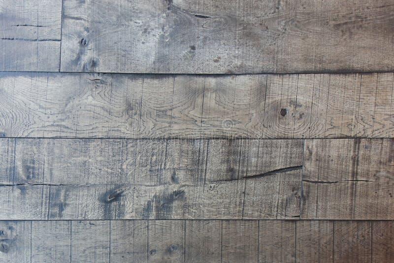 Het houten de barstpatroon van de paneelvloer, Houten muur, stock foto's
