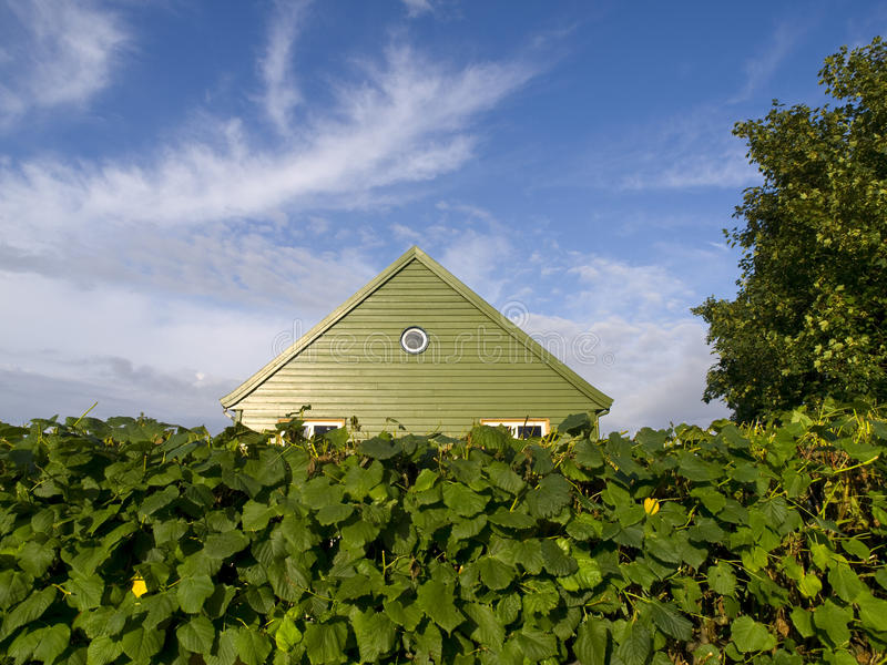 Het Houten Huis van Stavanger stock foto's