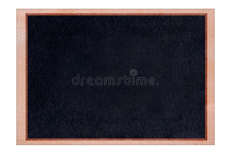 Het houten kader van het vormbord met zwarte oppervlakte royalty-vrije stock afbeeldingen