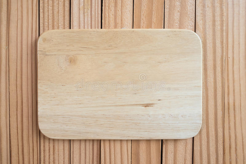 Het houten lege kader van de tekenraad op oude houten achtergrond royalty-vrije stock afbeelding