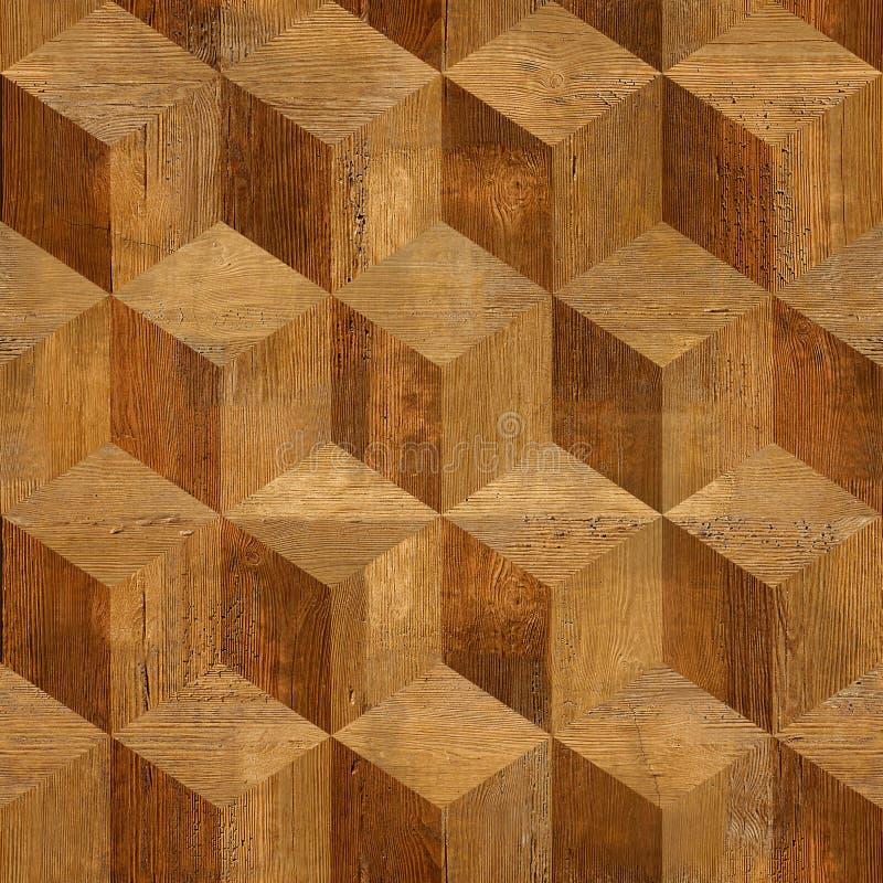 Het houten parket blokkeert rozehout stock foto's