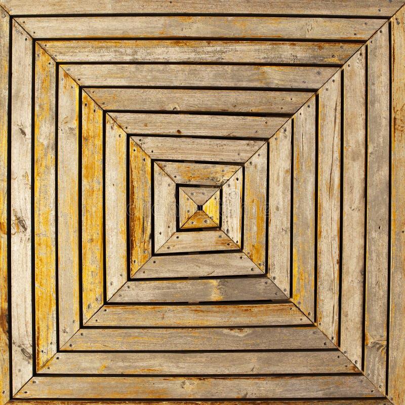 Het houten Patroon van het Dek royalty-vrije stock afbeelding