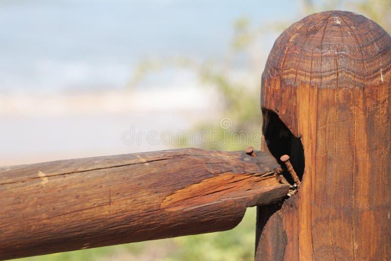 Het houten schermen royalty-vrije stock foto