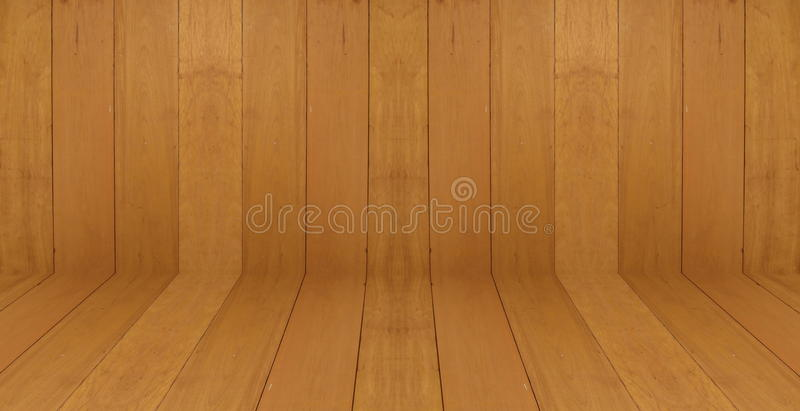 Het houten van de de muurvloer ruimte van de achtergrondbehang uitstekende textuur houten donkere bruine ontwerp royalty-vrije stock afbeelding