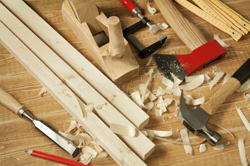 Het houten werken stock fotografie