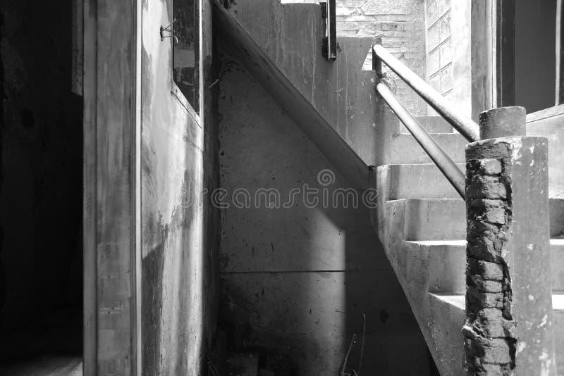 Het huis in aanbouw stock fotografie