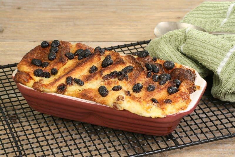 Brood en BoterPudding royalty-vrije stock afbeelding