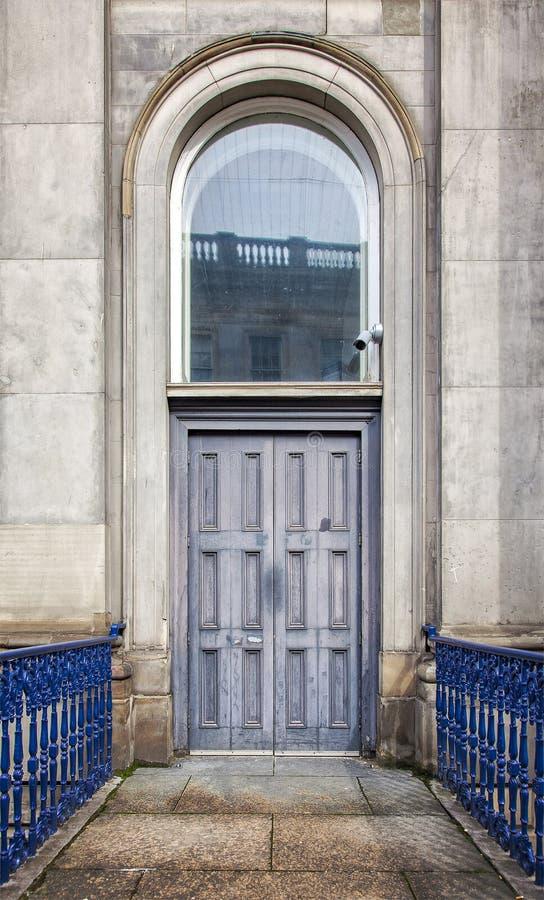 Het huis in de staddeuropening van Glasgow royalty-vrije stock fotografie