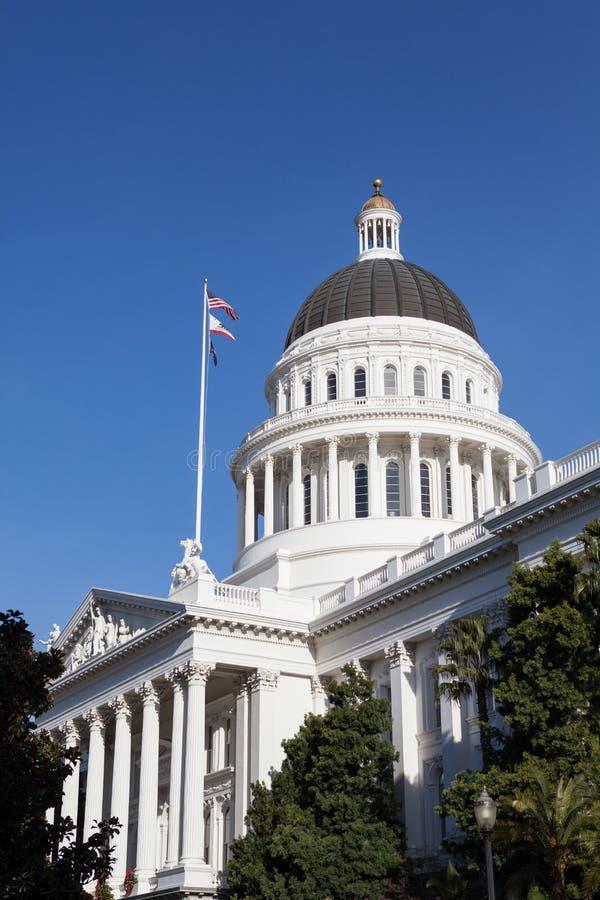 Het Huis en het Capitool de Bouw van de Staat van Californië, Sacramento stock foto's