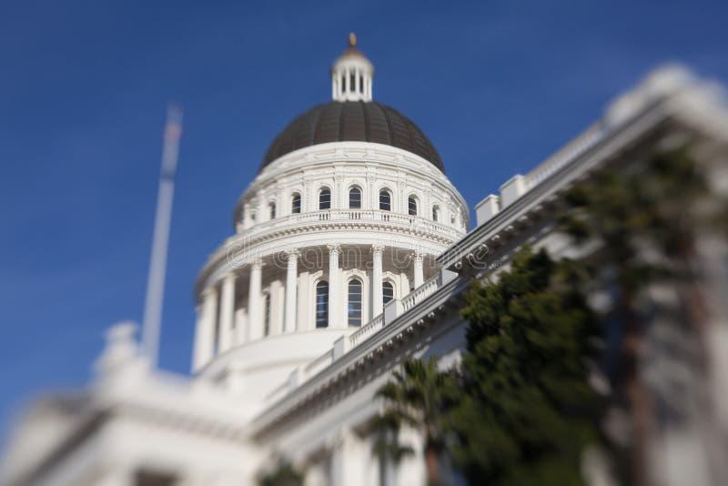 Het Huis en het Capitool de Bouw van de Staat van Californië, Sacramento stock fotografie