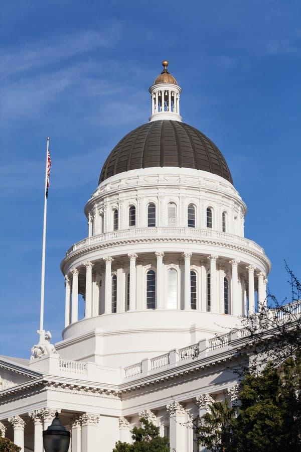 Het Huis en het Capitool de Bouw van de Staat van Californië, Sacramento royalty-vrije stock afbeelding