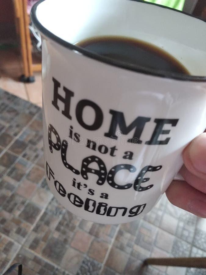 Het huis is geen zijn plaats een gevoel royalty-vrije stock afbeeldingen
