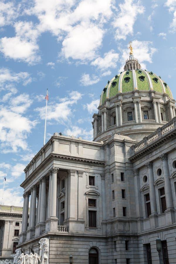 Download Het Huis & Het Capitool De Bouw Van De Staat Van Pennsylvania, Harrisburg Stock Afbeelding - Afbeelding bestaande uit oriëntatiepunt, overheid: 39108921